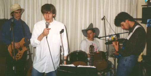 apartment party gig, 1992